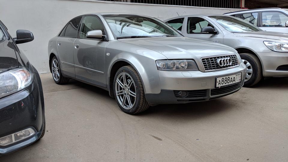 Audi A4 18т Avj 150 лс Drive2