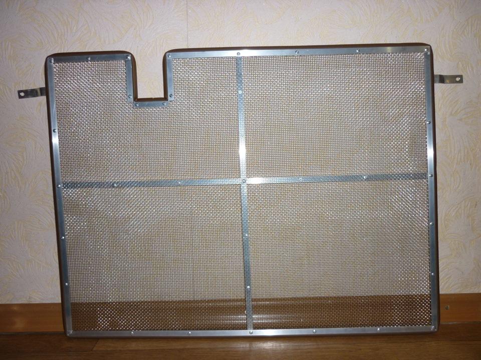 Защитная сетка на решетку радиатора шкода октавия а5