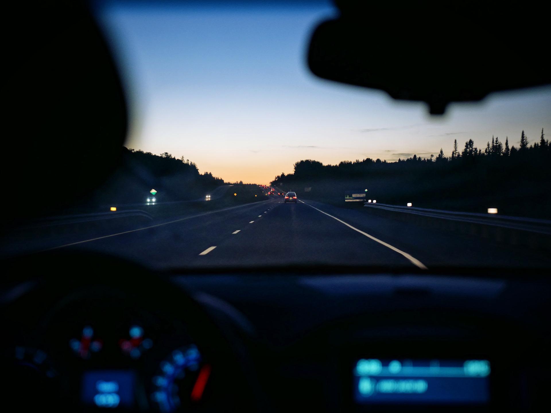 Картинки новым, картинки с машины на дорогу ночью