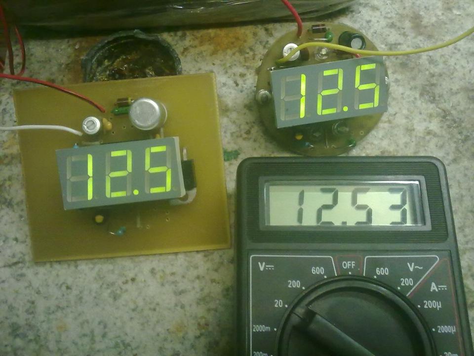 недоделанный термометр