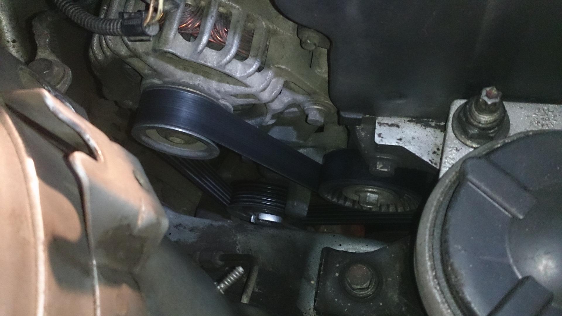 Замена приводных ремней форд фокус 2 18 своими руками