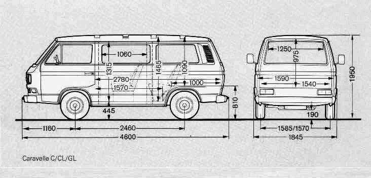 Размер фольксваген транспортер т3 передние стойки на фольксваген транспортер