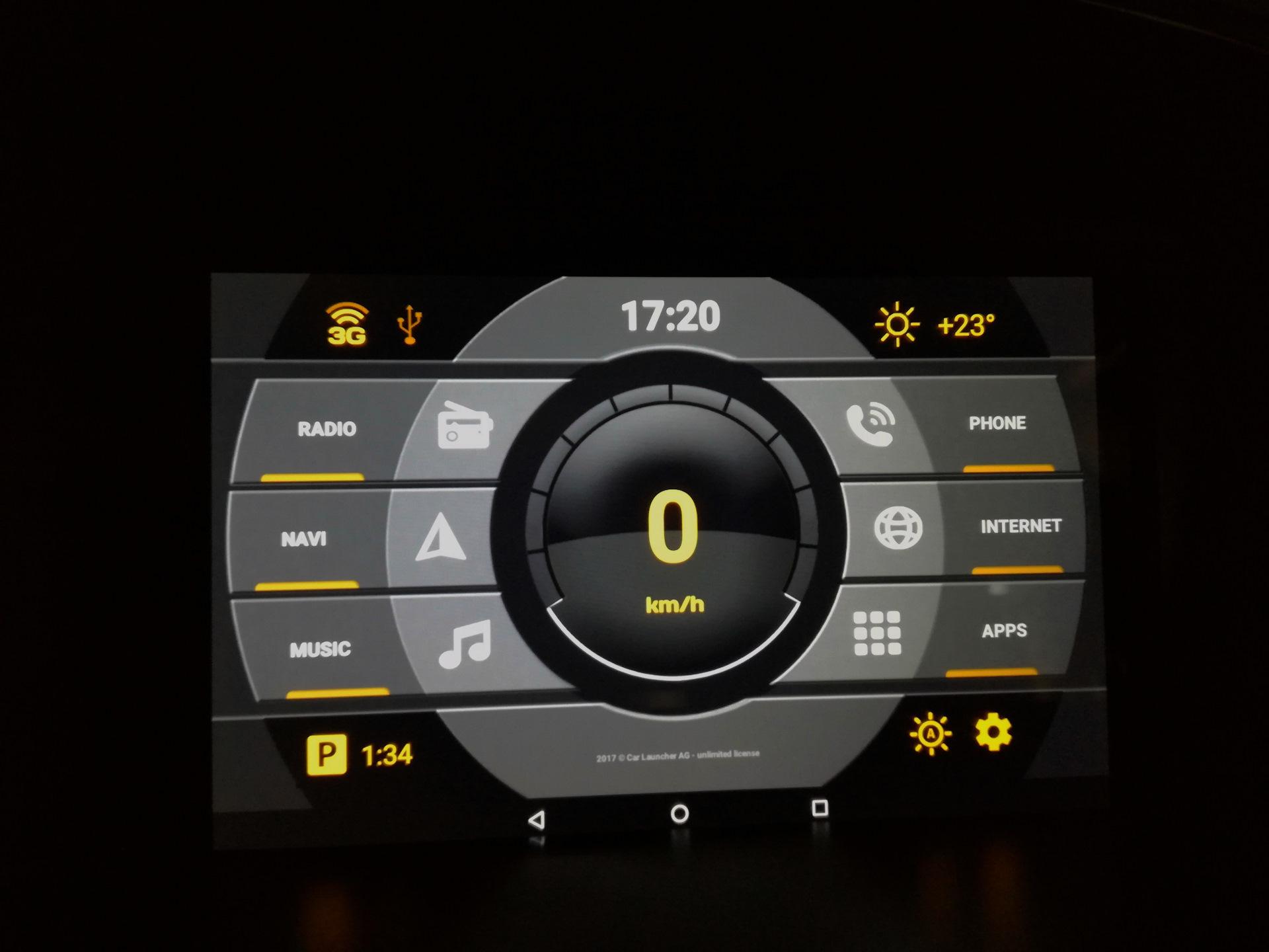 Car Launcher AGAMA — небольшой обзор — Nissan Almera Classic