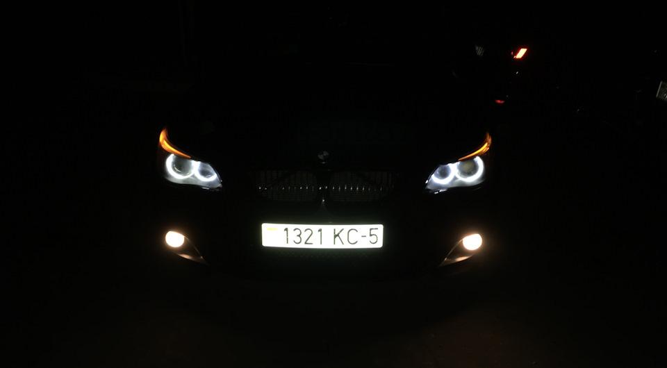 Установка светодиодных ламп в птф