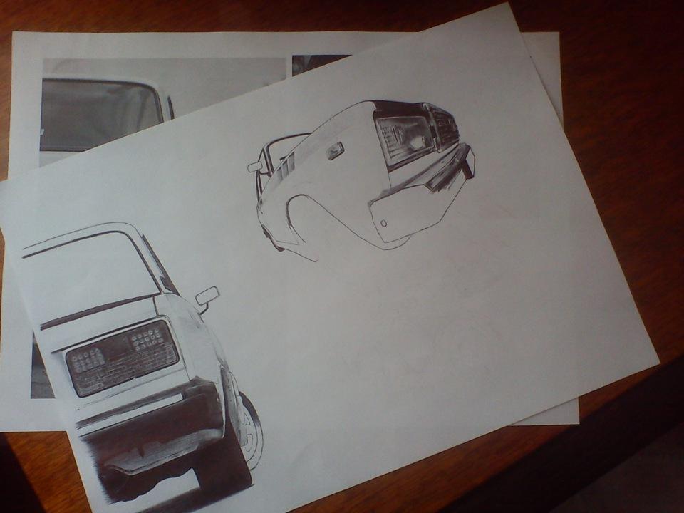 рисунки ваз: