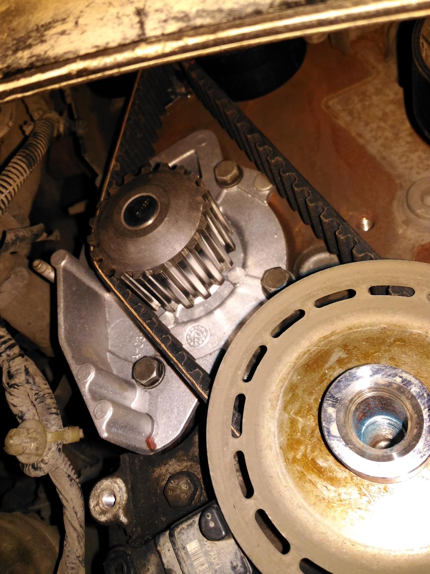 замена ремня грм ford s-max 2.0 tdci