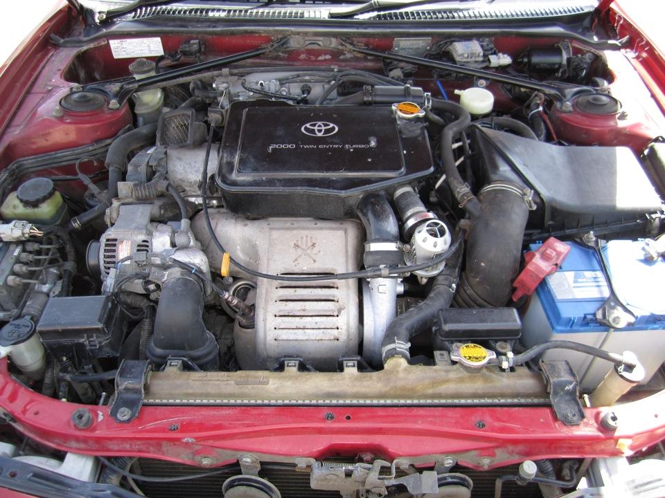 капот Toyota Селика st205 gt four #2