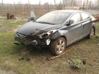 hyundai после аварии