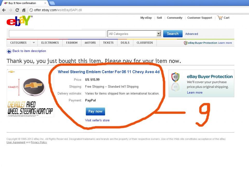 Как сделать покупку на ebay paypal