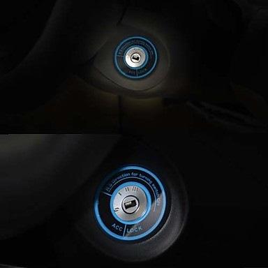 светящаяся наклейка на машину