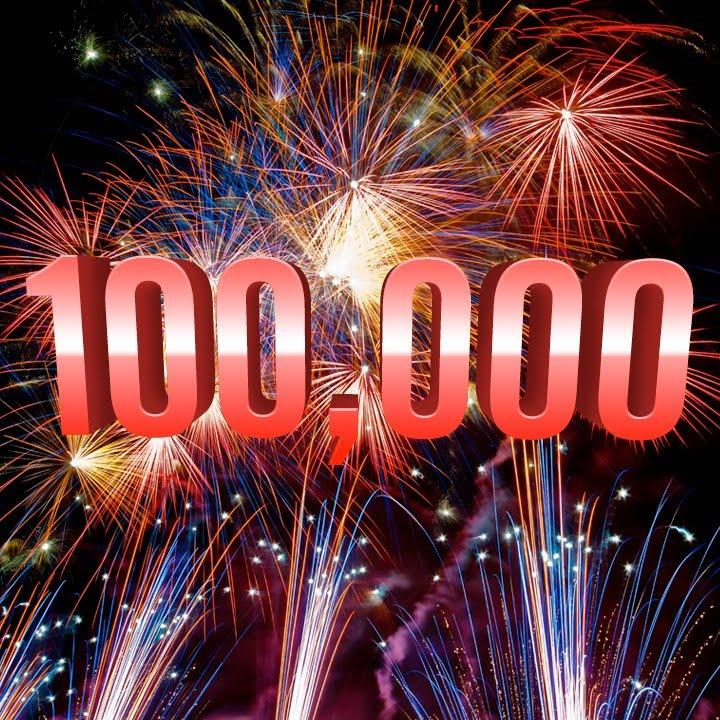 Днем рождения, открытка нас 1000000