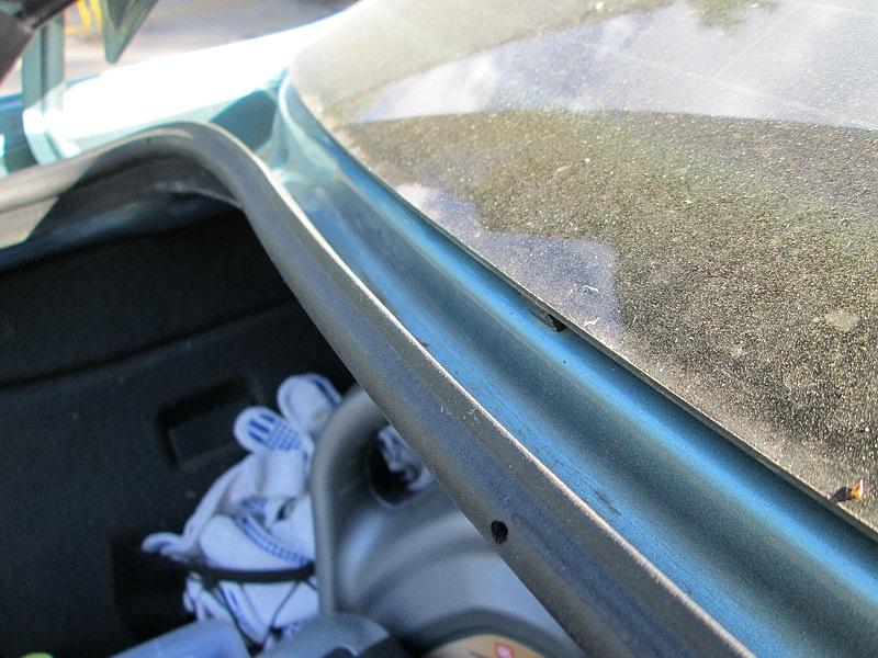 Уплотнитель багажника установка