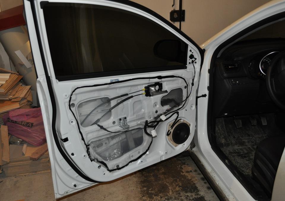 Шумоизоляция дверей в авто своими руками
