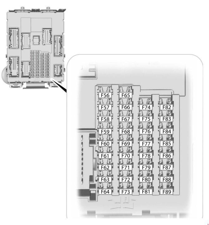 Фото схемы предохранителей форд фокус 2