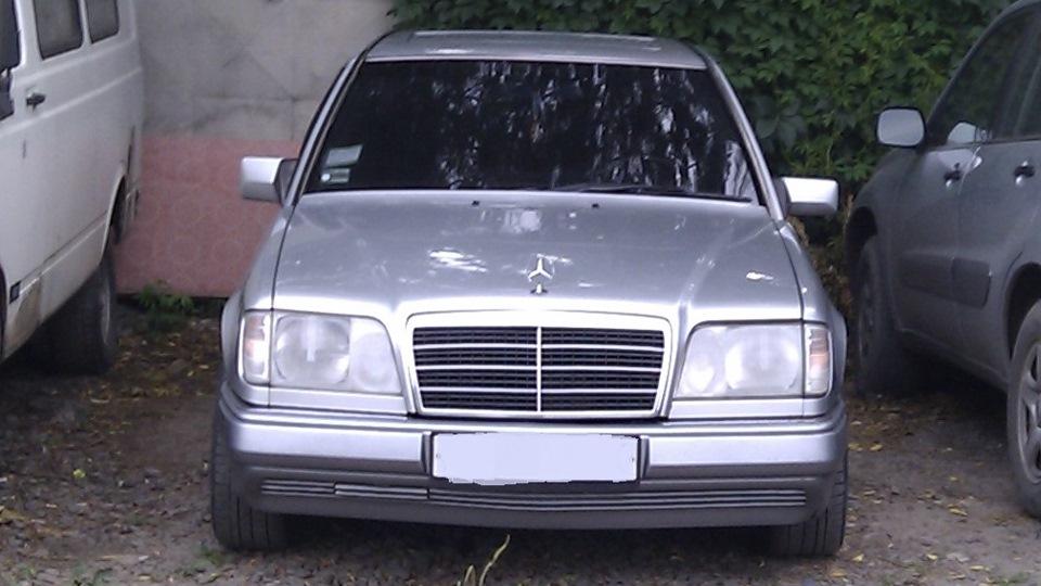мерседес бенц e220 1994 под капотом