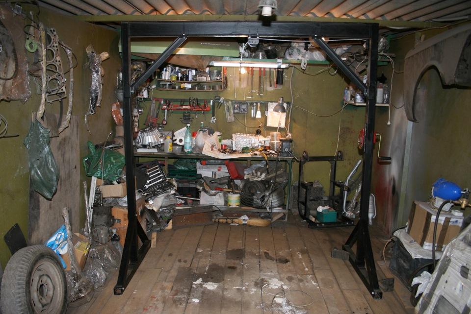 Самодельная кран балка для гаража