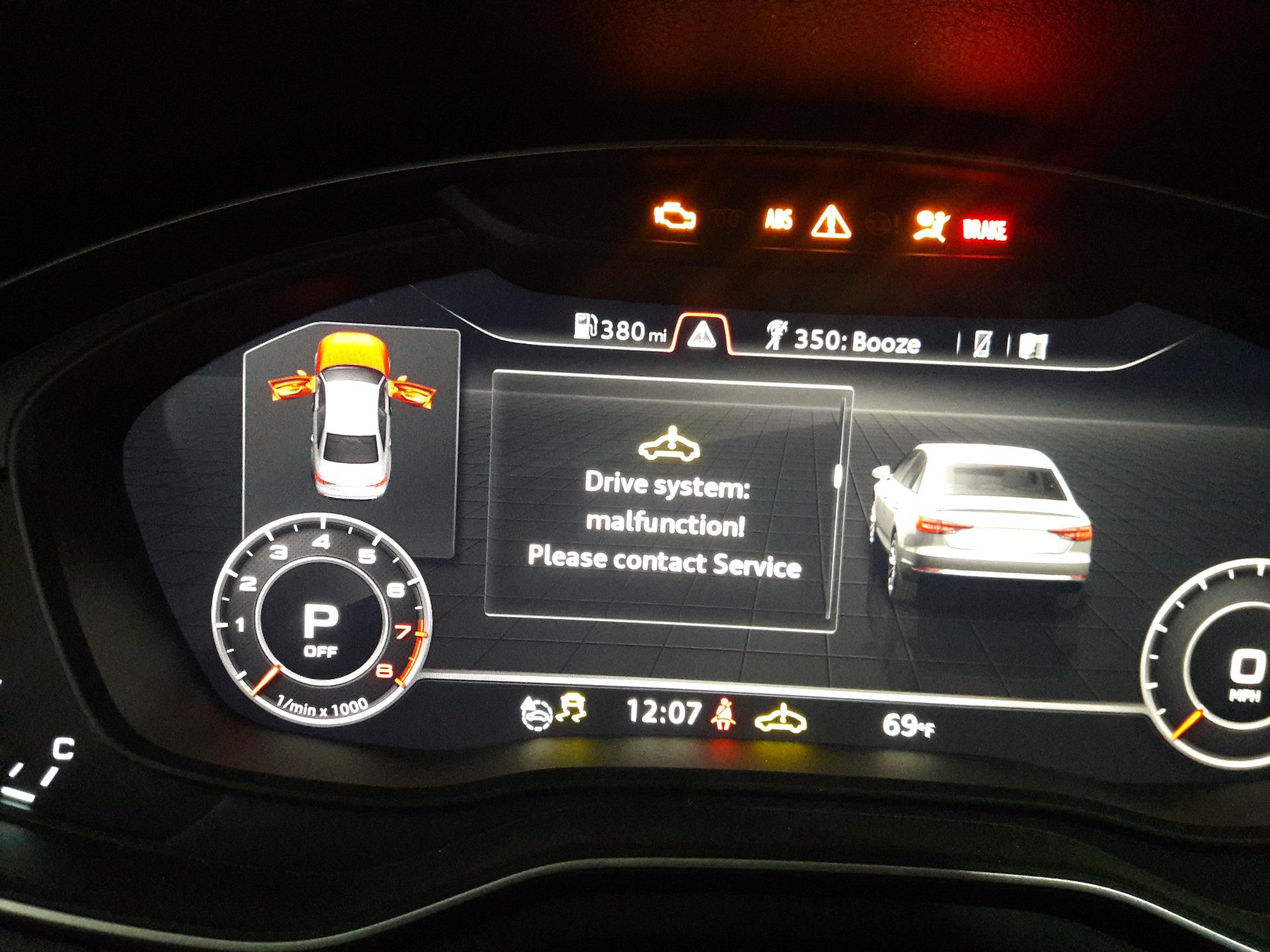 A4 B9 ошибки  Куда копать? — Сообщество «DRIVE2 Audi Club