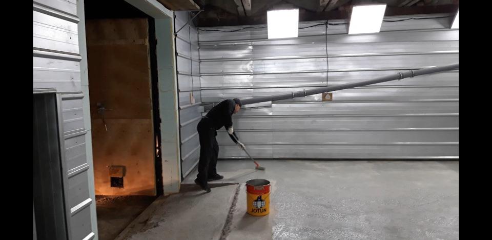 бетон для пола в гараже пропорции