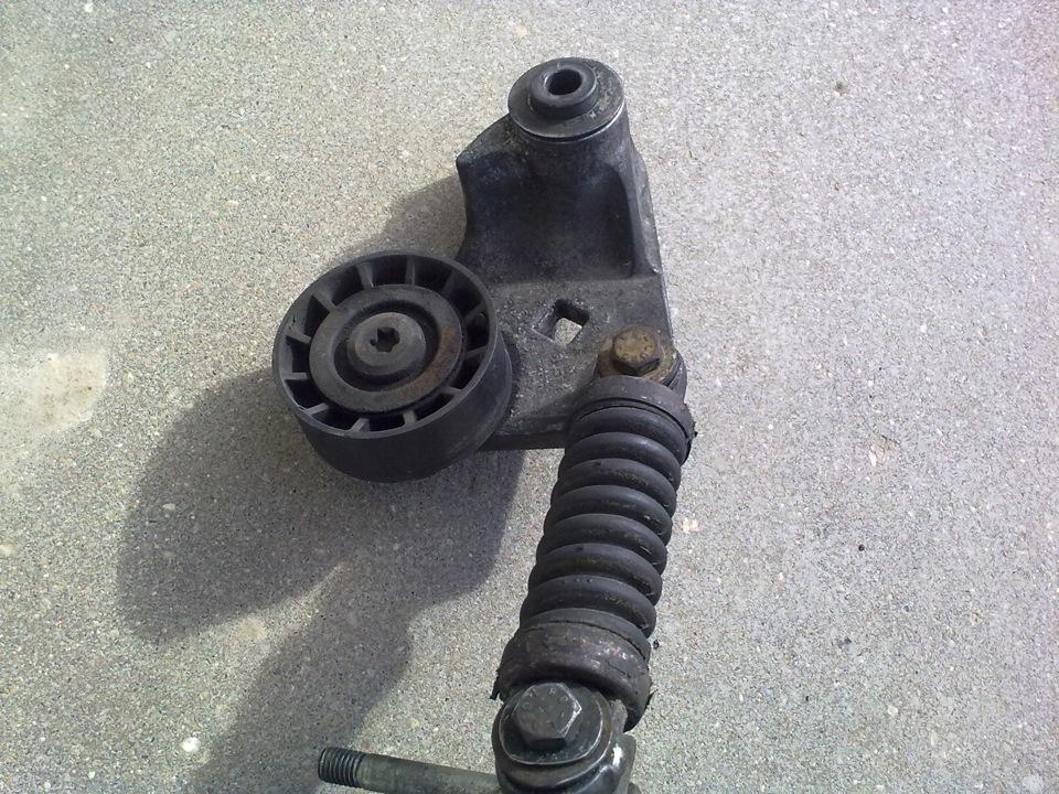 Замена ремня ролика натяжителя форд транзит фото 32-734
