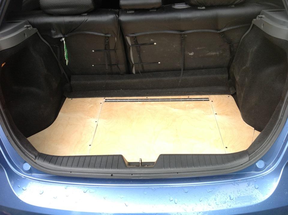 Как можно сделать люк в машине