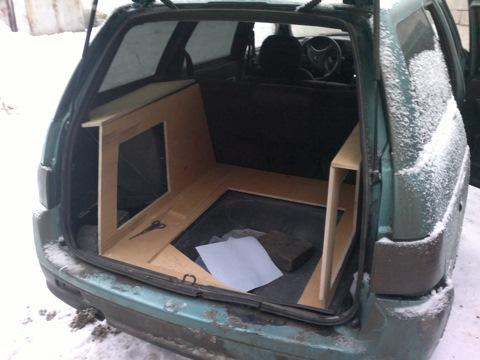 Переделка в багажнике ваз 2111 своими руками 84