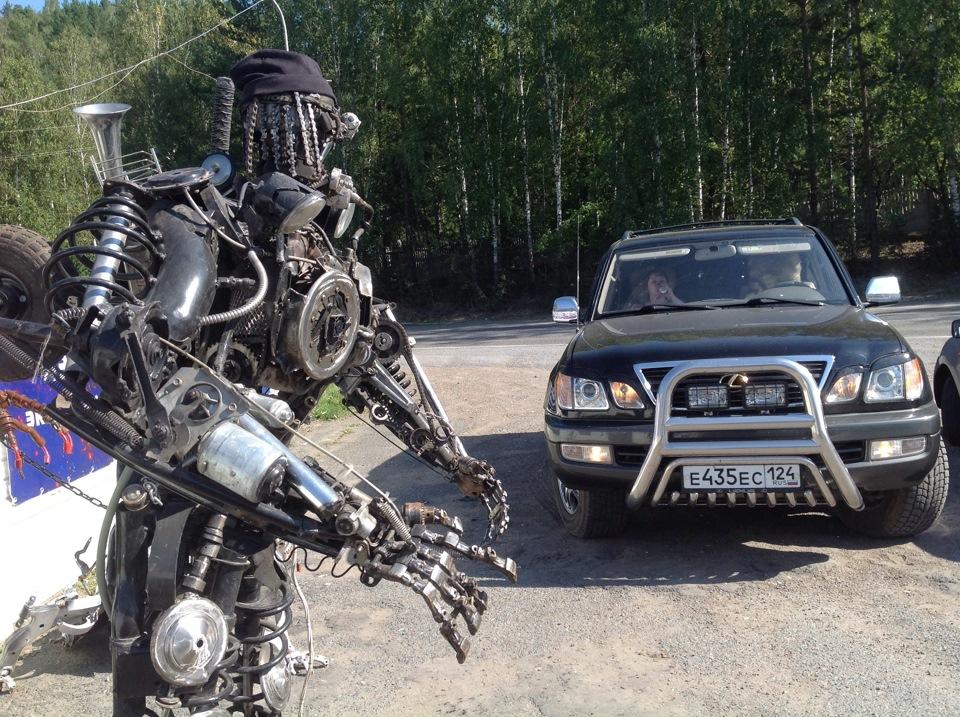 разобранных машин