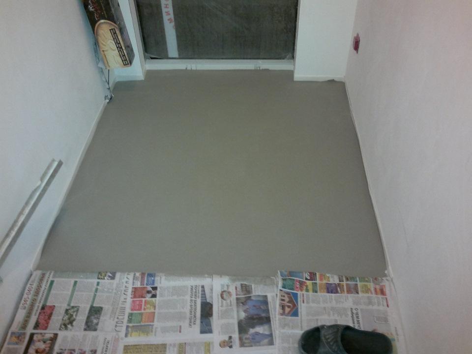 Когда можно ложить плитку на наливной пол полиуретановый карниз на шторах