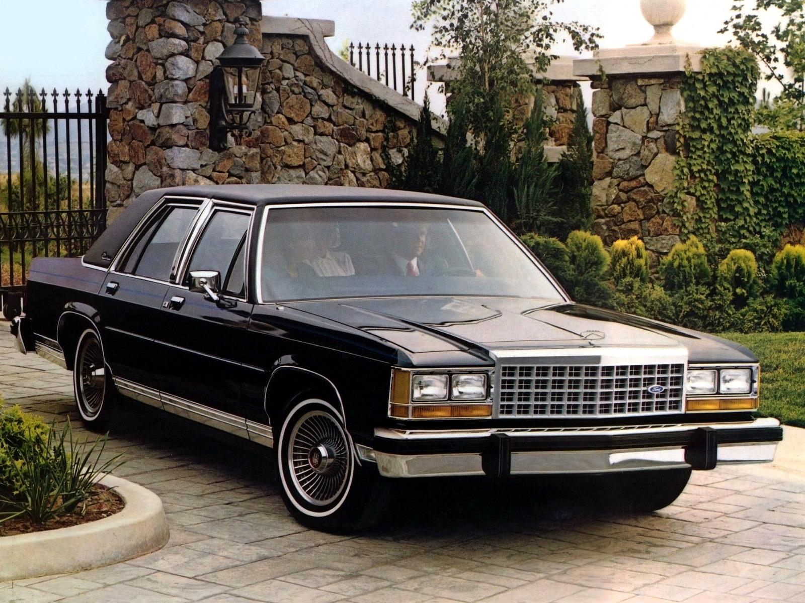 Ford Ltd Ii Crown Victoria 1970 1985