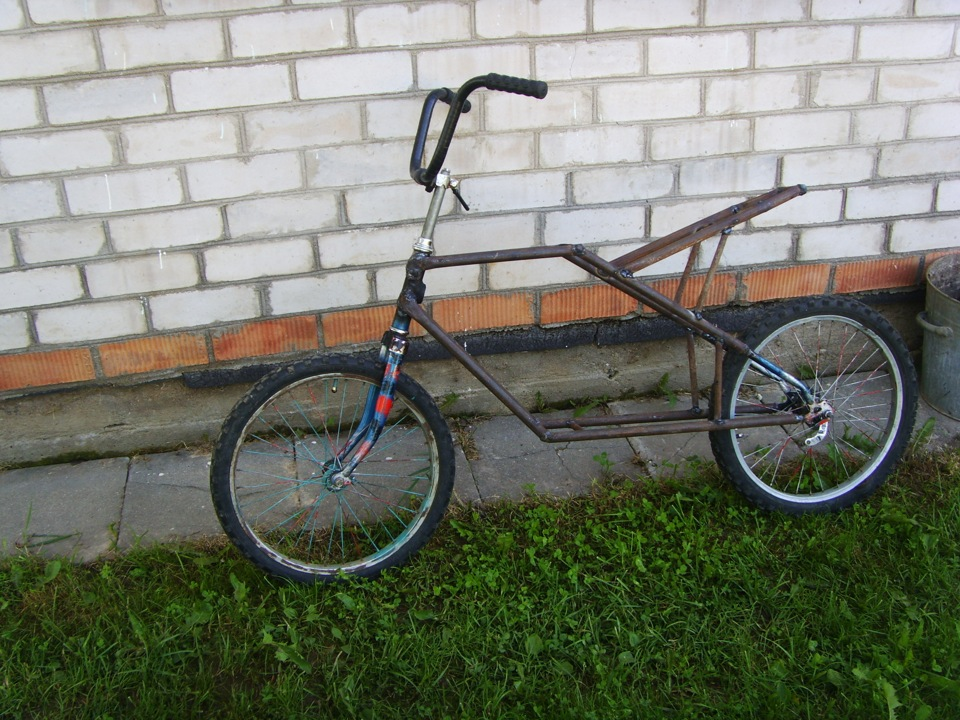 Сделать мопед из велосипеда в домашних условиях 199