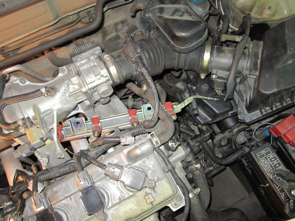 Чистка форсунок своими руками не снимая с двигателя