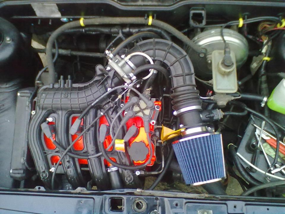 Как снять двигатель на ваз 2109
