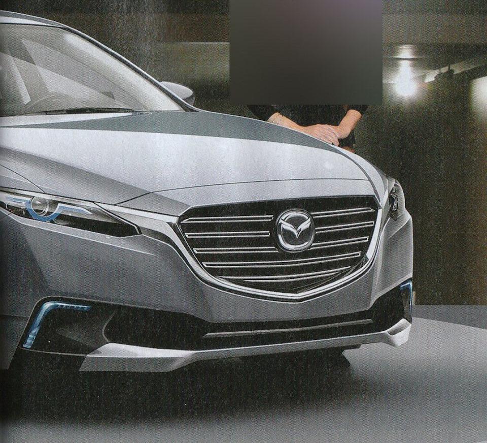 2018 Mazda Mazda6 Camshaft: Mazda 6 нового поколения (2017-2018)