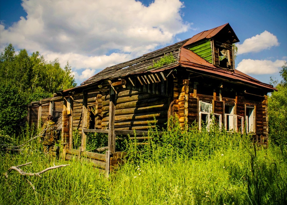 здесь много брошенные деревни россии фото репортажная фотография