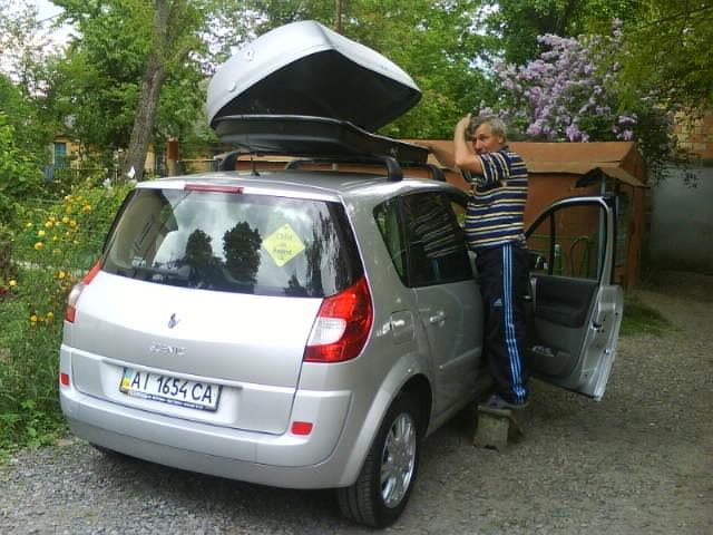 Багажник на крышу рено сценик 2 купить