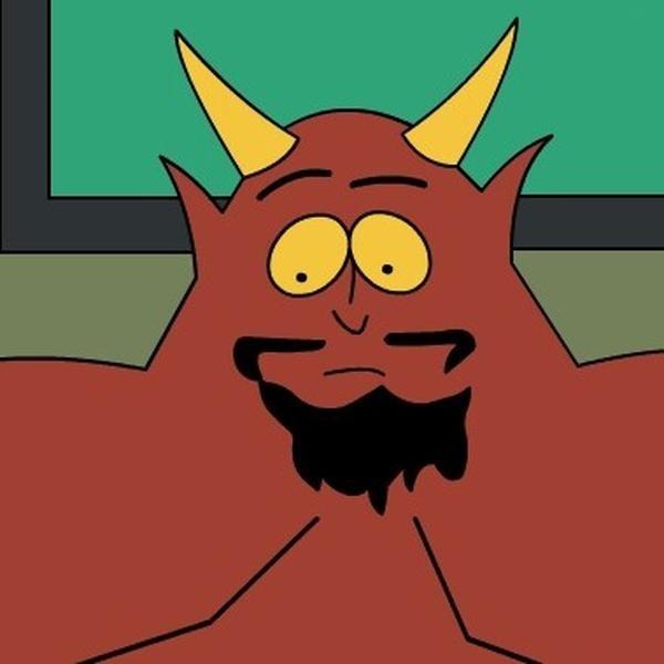 Картинки сатаны приколы, дизайнера открытки открытки