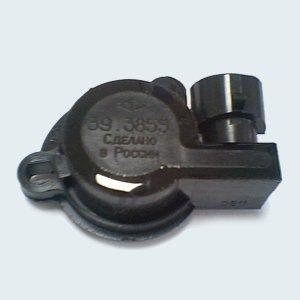 Схема механизмов блокировки открытия дроссельной заслонки вторичной камеры и.