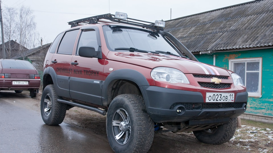 chevrolet niva trophy тест драйв