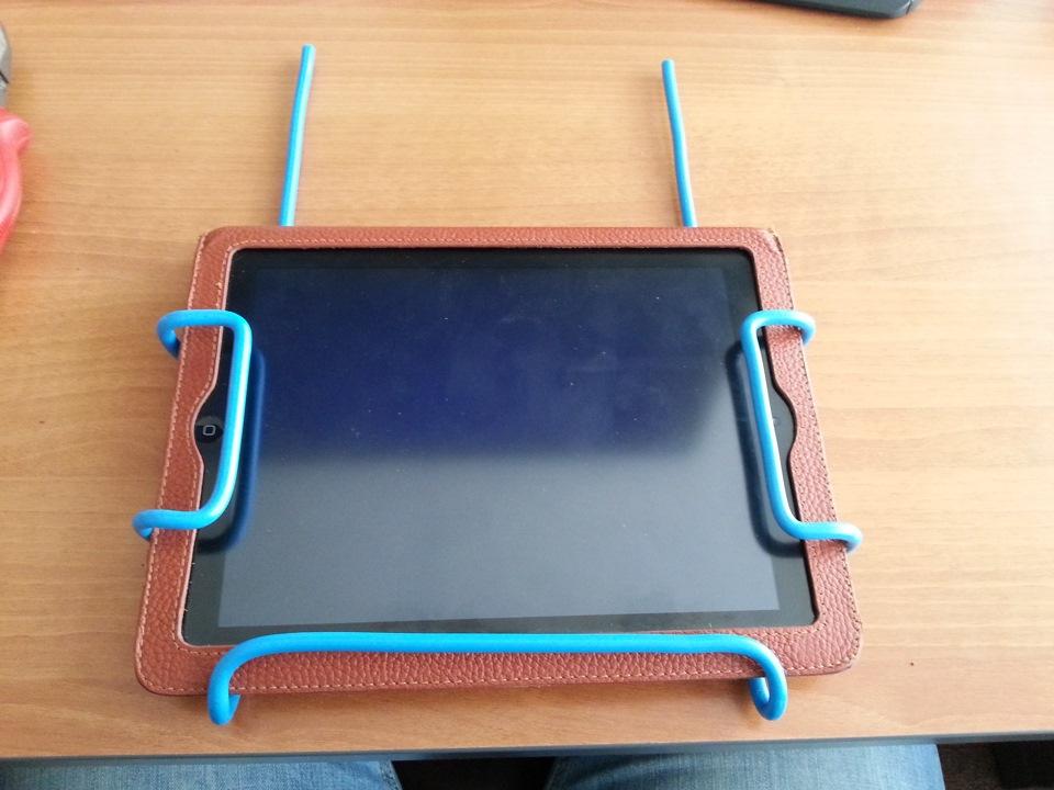 Как сделать держатель планшета 653