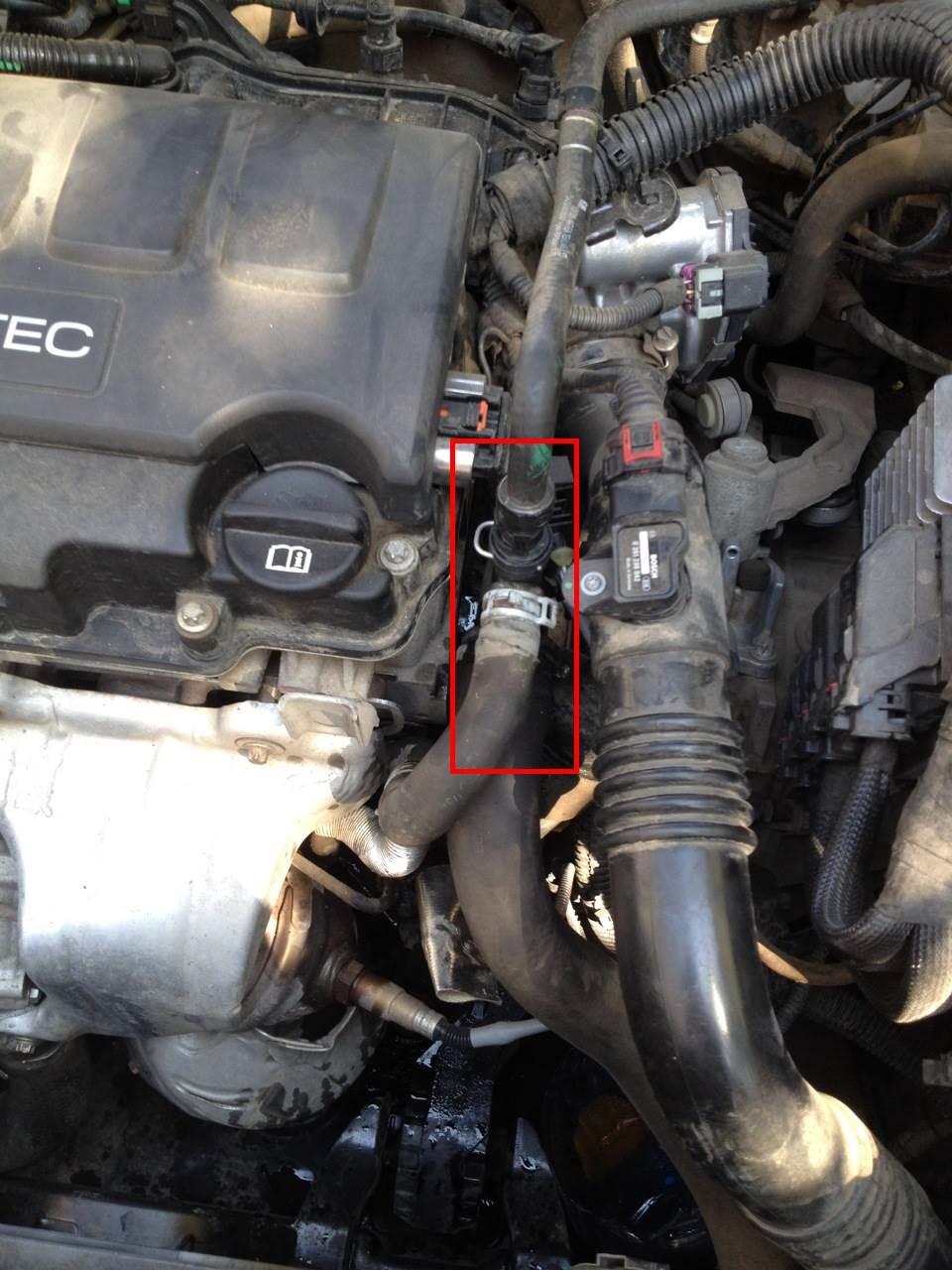 Запчасти для устранения течи антифриза на Opel Astra J