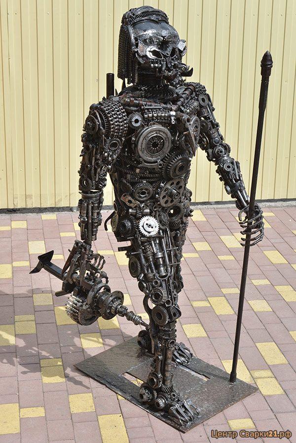 фото скелетов человека из автомобильных запчастей предпочтение встроенным