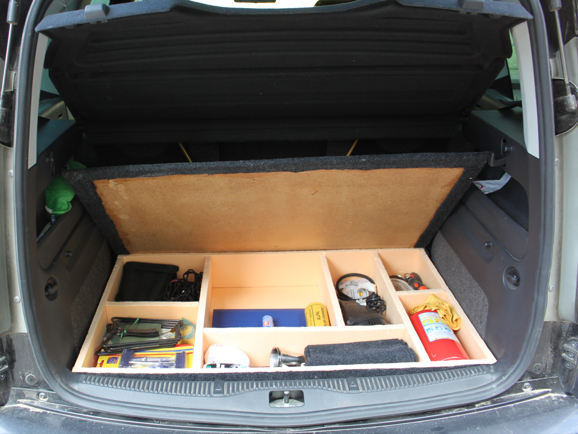 Сумка-органайзер в багажник автомобиля своими руками