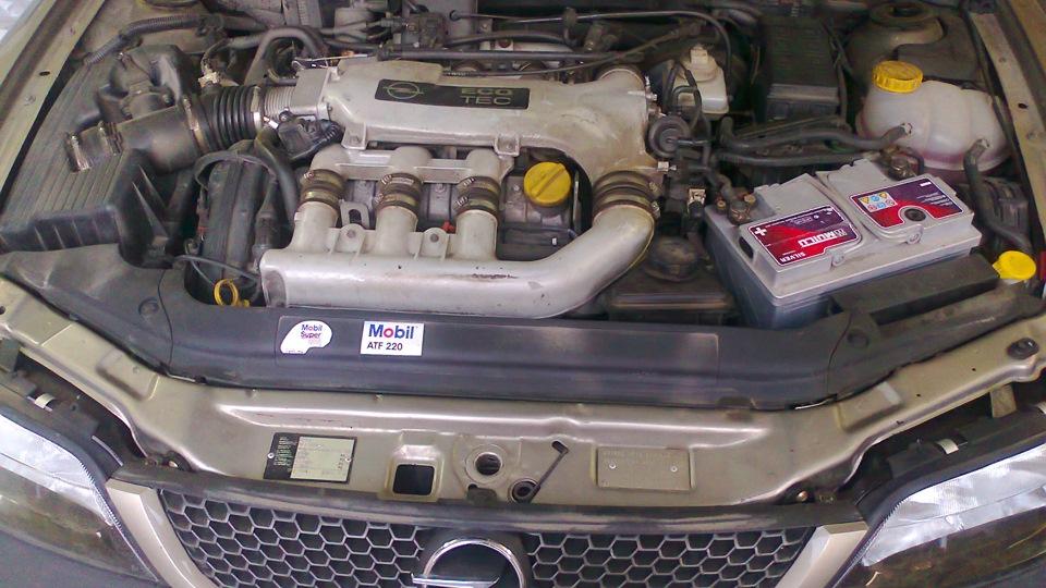 опель вектра б управления двигателем х25хе