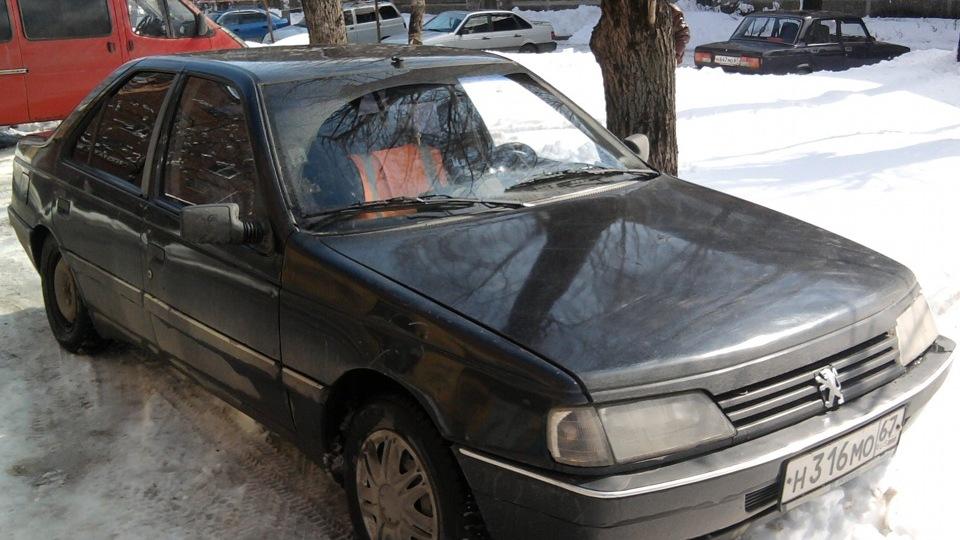 Peugeot 405 *Красномордый Лев*