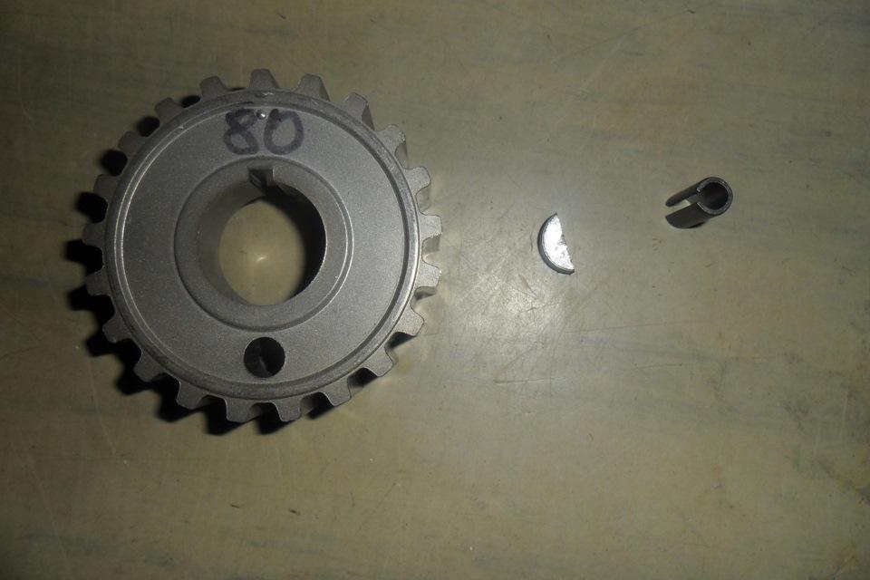 Фото №19 - как снять шкив коленвала ВАЗ 2110