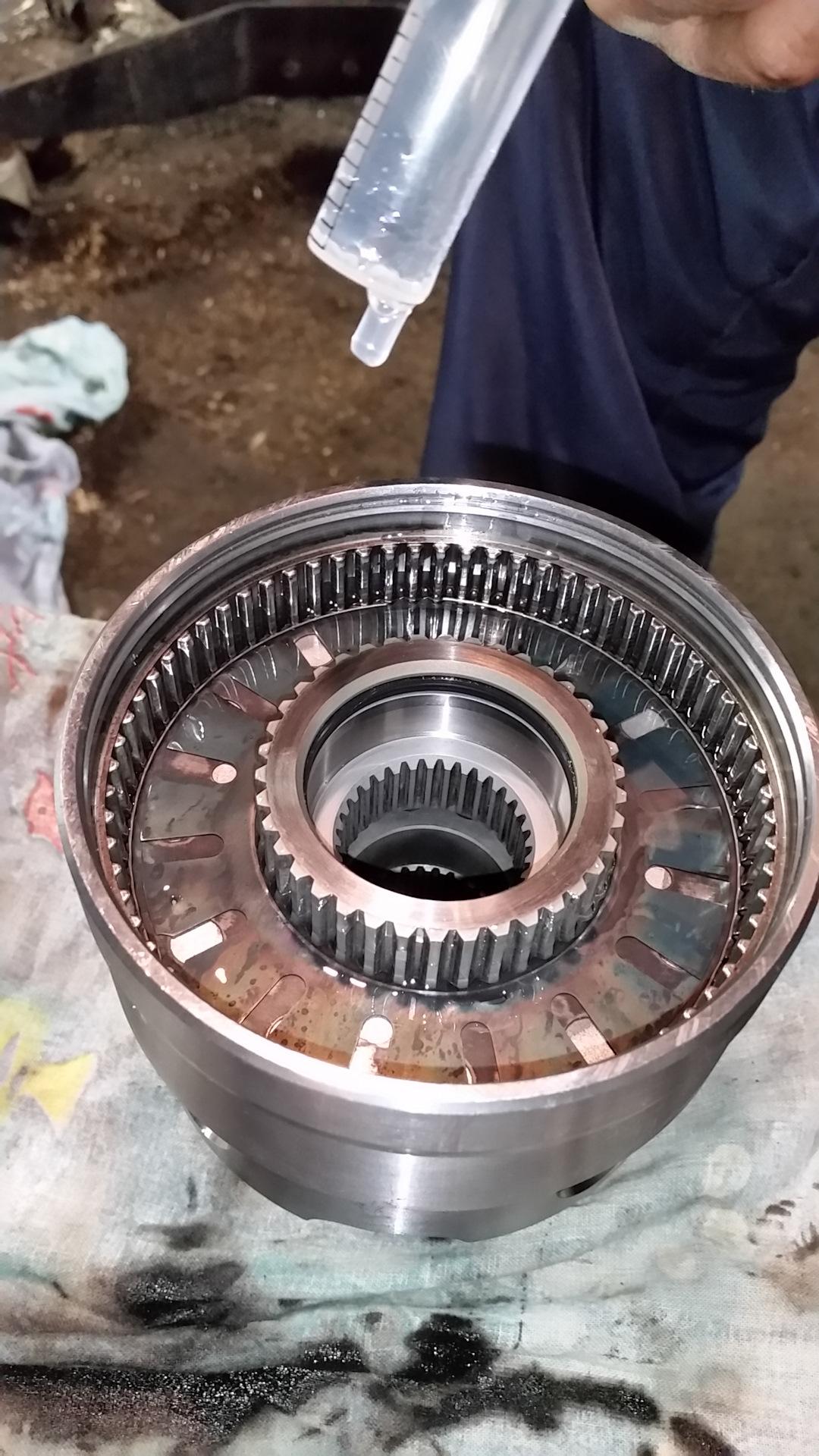 Фотоотчет ремонт вискомуфты субару
