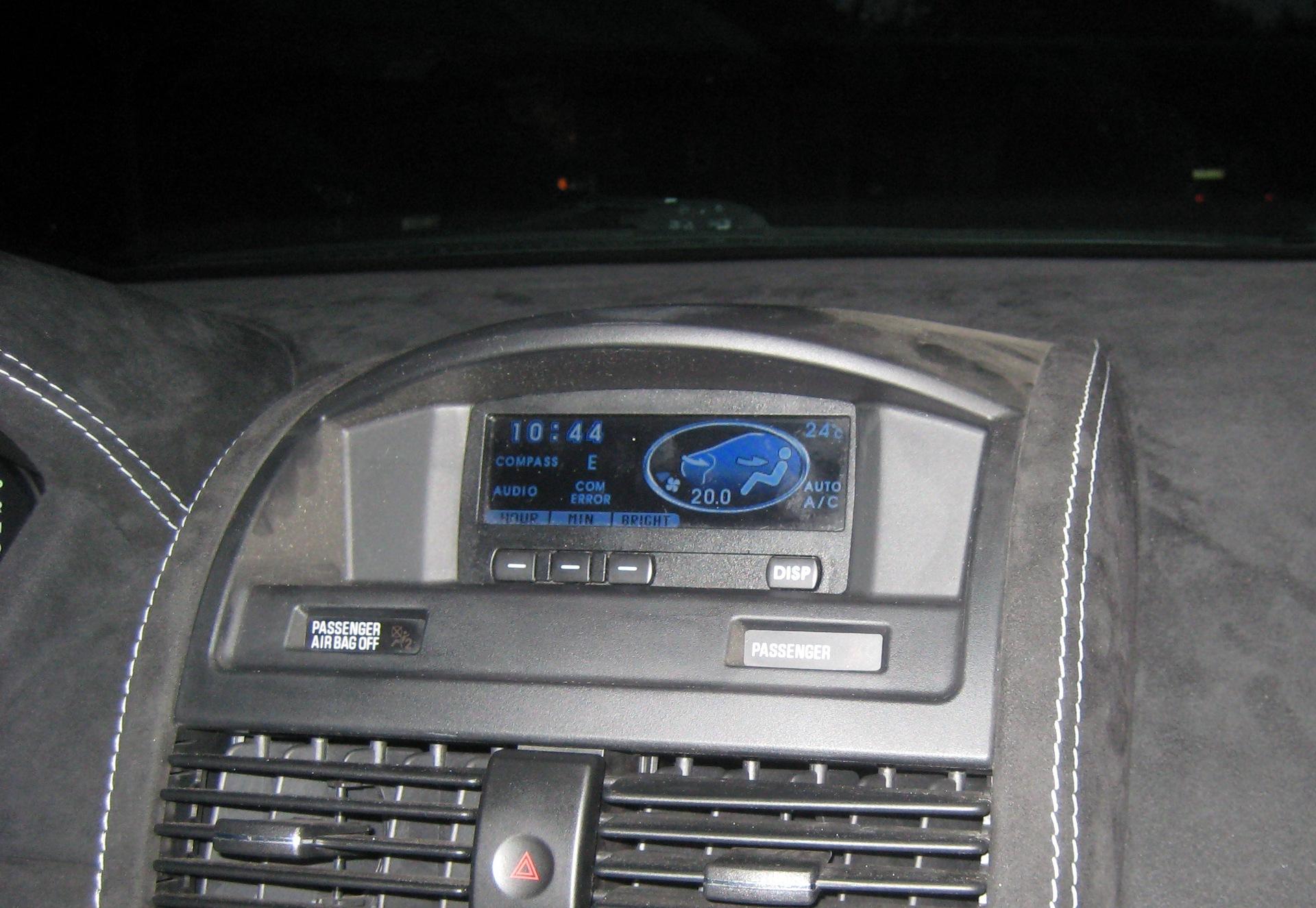 митсубиси галант 9 дисплей монитор