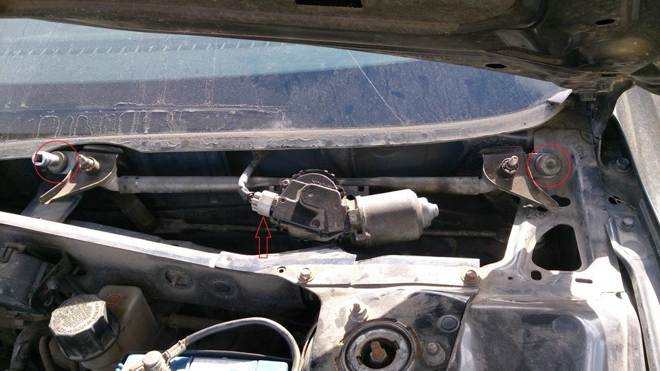 Ремонт моторчик стеклоочистителя mazda Замена регулятора давления ниссан кашкай j11