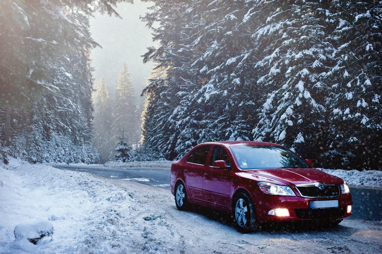 Папе, красивые картинки с автомобилями зимой