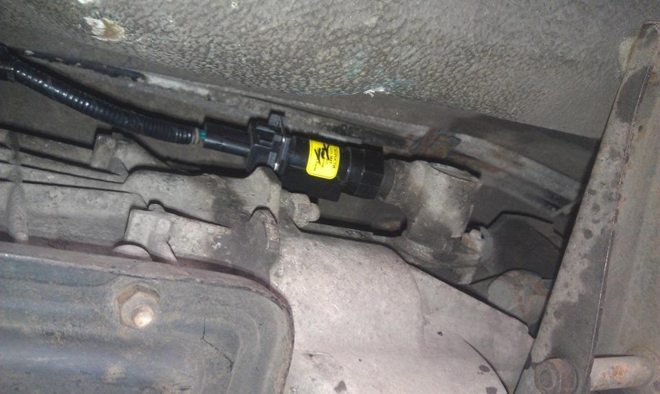 Замена датчика скорости на ВАЗ 2110