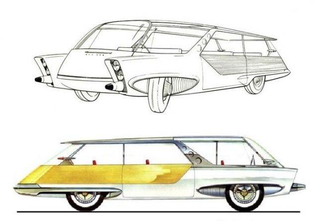 corvair futura concept car
